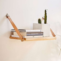 Harper Leather Strap Shelf - Urban Outfitters