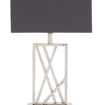 The Sharp Stainless Steel Table Lamp