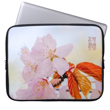 Sakura - Japanese cherry blossom Laptop Sleeve