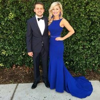 Prom Gown,Royal blue Prom Dresses,Evening Gowns,Formal Dresses,Royal blue Prom Dresses from prom dress