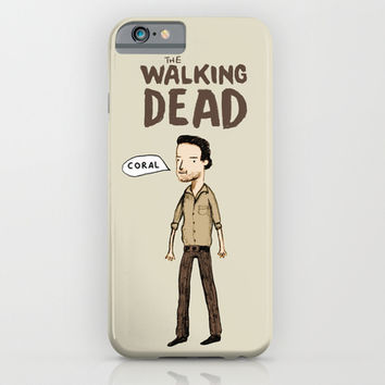 The Walking Dead iPhone & iPod Case by Sophie Corrigan