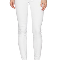 True Religion Casey Skinny with Flaps in White