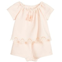 Chloe Baby Girls Fancy Onesuit (Mini-me)