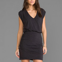 Heather Chandelier Mini Dress in Charcoal