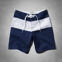A&F Classic Fit Swim Shorts