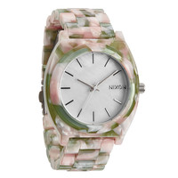 Nixon: Time Teller Acetate Watch - Mint Julep