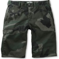 Free World Hooligan Rambler Camo Chino Shorts