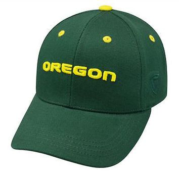 Licensed Oregon Ducks Official NCAA Youth One Size Cotton Hat Cap by TOW 665782 KO_19_1