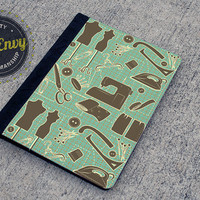 Cutting Table Sewing Pattern iPad 2/3/4 Folio Case