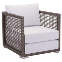 El Sol Outdoor Arm Chair COCOA/GREY