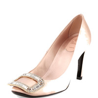 Belle de Nuit Satin Pump, Nude
