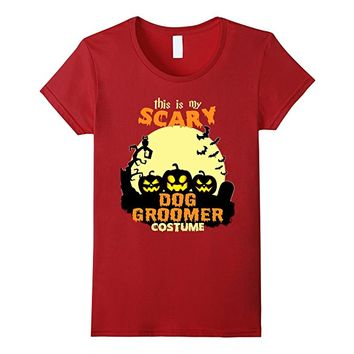 This is my scary Dog Groomer costume T-Shirt
