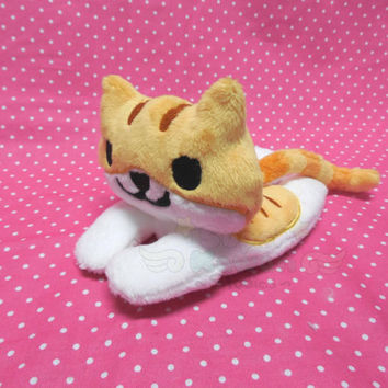 Neko Atsume - Pumpkin Beanie Plush