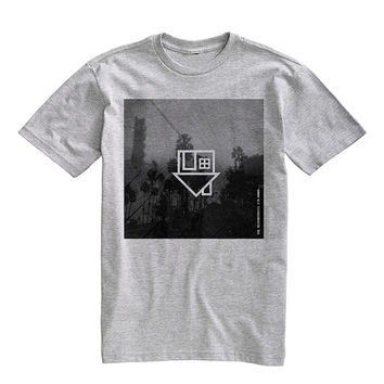 The Neighbourhood Alternative Rock Tee Shirt T-Shirt Unisex Gray Size S,M,L,XL