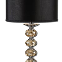 Uttermost Saturna Crystal Table Lamp - 27471-1