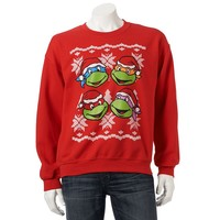 Teenage Mutant Ninja Turtles Snowflake Sweatshirt