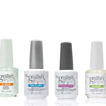 Harmony Gelish Basix Kit Full Size Esmaltes en Gel - 90 ml: Amazon.es: Belleza