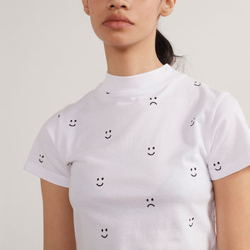 Lazy Oaf Happy Sad Fitted T-shirt