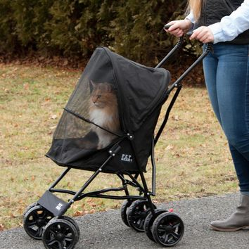 Travel Lite Pet Stroller, Black