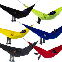 Premium Quality Hammock - Nylon Travel Hammock - Ultra Strong - 400 kg capacity
