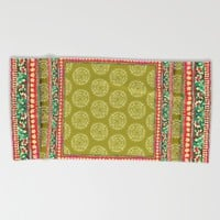 Mya Square Pink Beach Towel by Aimee St Hill