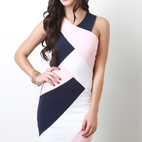 Crisscross Weave Midi Dress