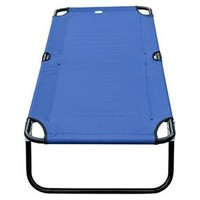 Portable Camping Cot – Blue