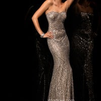 Scala 48366 - Lead Strapless Sweetheart Homecoming Dresses Online