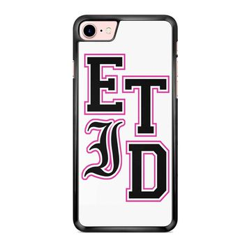 Every Time I Die Varsity Letters iPhone 7 Case