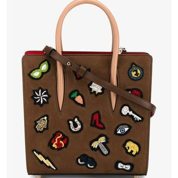 CHRISTIAN LOUBOUTIN | Paloma Small Embellished Leather Tote | Womenswear | Browns Fashion