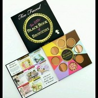 Too Faced Little Black Book of Bronzers Chocolate Soleil Sun Bunny  New in Box