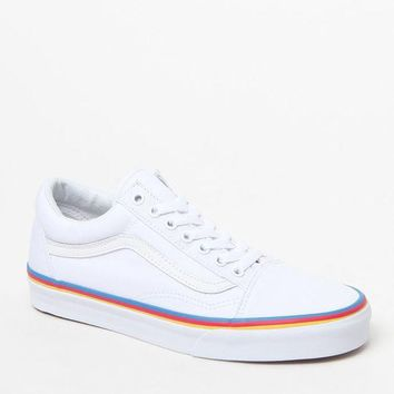 CREYONDI5 Vans Women's Old Skool Rainbow Foxing Sneakers