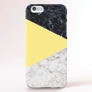 iphone 6 case yellow marble