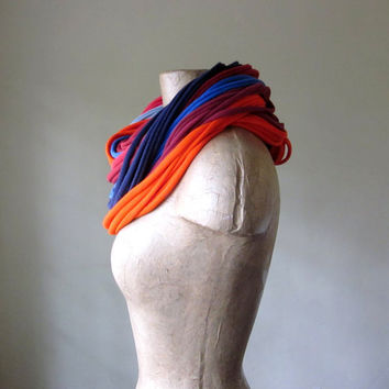 CHUNKY jersey cotton scarf in everything but the by EcoShag