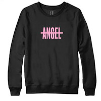 NO ANGEL CREW NECK SWEATSHIRT