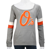 Baltimore Orioles Women's Deal Pullover Top by Wright & Ditson - MLB.com Shop