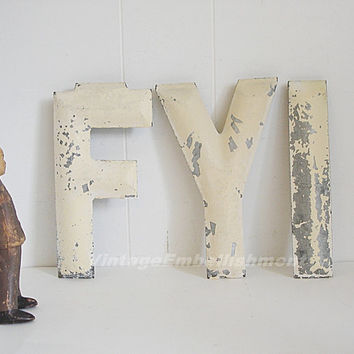Antique Marquee Letters FYI Vintage Marquee Letters Architectural Industrial Salvage Letters