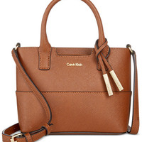 Calvin Klein Mini Tote Crossbody - All Handbags - Handbags & Accessories - Macy's