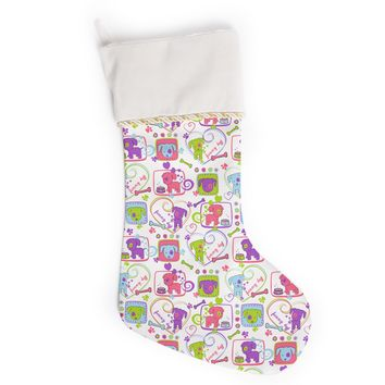 "Julia Grifol ""My Loving Dogs"" Christmas Stocking"