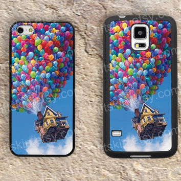 UP hot air balloon iphone 4 4s iphone  5 5s iphone 5c case samsung galaxy s3 s4 case s5 galaxy note2 note3 case cover skin 141