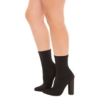Women's Paw-1 mid calf High Heel Boot