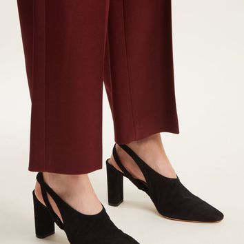 Camil slingback suede block-heel pumps | The Row | MATCHESFASHION.COM US