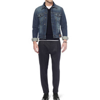 Dolce & Gabbana - Slim-Fit Washed Denim Jacket | MR PORTER
