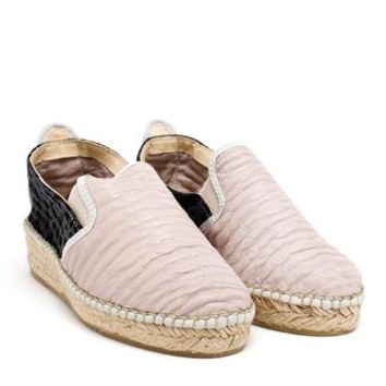 PRISM | Jacquard and Leather Espadrilles | Browns fashion & designer clothes & clothing