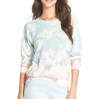 Women's 35mm Clothing 'Jenna' Print Hacci Sweatshirt,