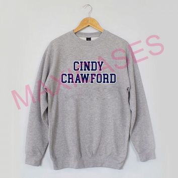 Cindy crawford Sweatshirt Sweater Unisex Adults size S to 2XL