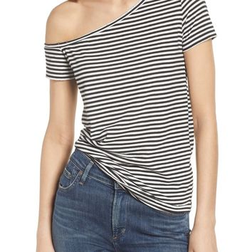 n:PHILANTHROPY Dorado Stripe One-Shoulder Tee | Nordstrom