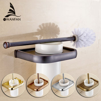 Euro Style Toilet Brush Holder 5Colors For Choose Best Quality Toilet Brush Holders Bathroom Accessories F81397