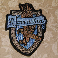 Harry Potter Ravenclaw House Crest Iron On Embroidery Patch MTCoffinz