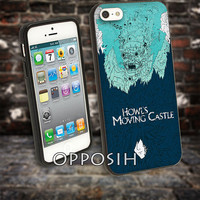 Howl's Moving Castle cover case for iPhone 4 4S 5 5C 5 5S 6 Plus Samsung Galaxy s3 s4 s5 Note 3 by opposih